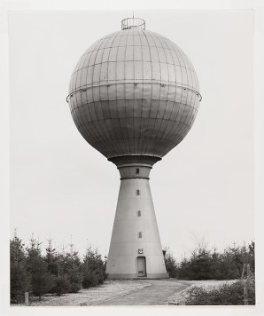 Bernd and Hilla Becher (German, active 1959–2007) Water Tower, Verviers, Belgium, 1983, printed 1989 Gelatin silver print; 59.3 x 47.0 cm. (23 3/6 x 18 1/2 in.) The Metropolitan Museum of Art, New York, Purchase, The Horace W. Goldsmith Foundation Gift, through Joyce and Robert Menschel, 1992 (1992.5009) http://www.metmuseum.org/Collections/search-the-collections/266652